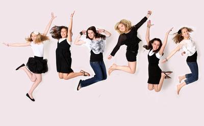 cool fashion portrait party parties jumping happy fun ideas teens arkansas photograhy