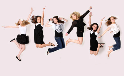 cool fashion portrait party parties jumping happy fun ideas teens arkansas photograhy